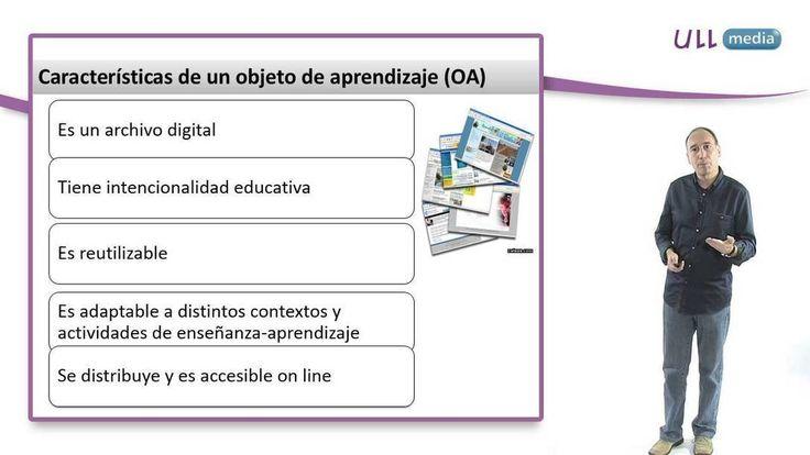Videolección sobre las características de los entornos de aprendizaje online, incluyendo la definición de lo que son objetos de aprendizaje, las e-actividades, la función tutorial y el papel de la comunicación social dentro de estos entornos.