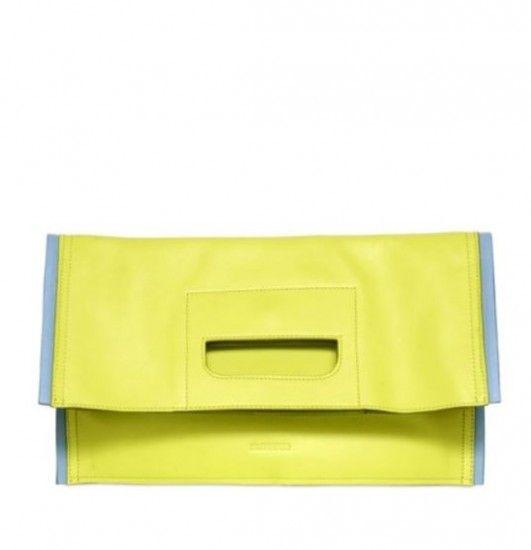 17 Borse gialle per la Primavera Estate 2014 in tutte le Sfumature Moda Borse gialle primavera estate 2014 Jil Sander