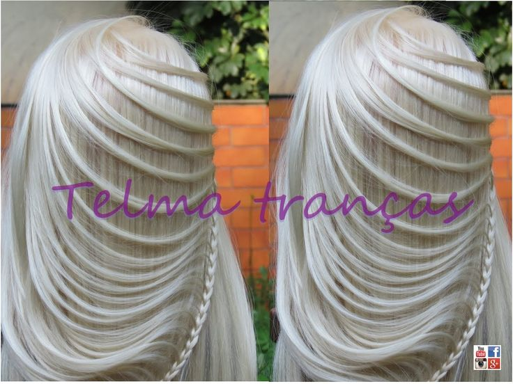 Trança Ellipse, different braid hairstyle - Telma tranças - YouTube