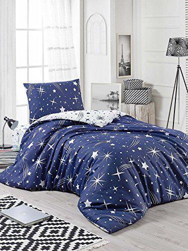 Dose Of Modern Halley Dark Blue Single Quilt Cover Set Fr 162elr38417 White Dark Blue Duvet Cover Sets Duvet Covers Duvet