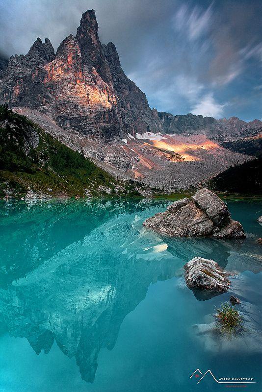 Lake Sorapiss, Dolomites, Veneto, Italy | by Matteo Sanvettor on 500px