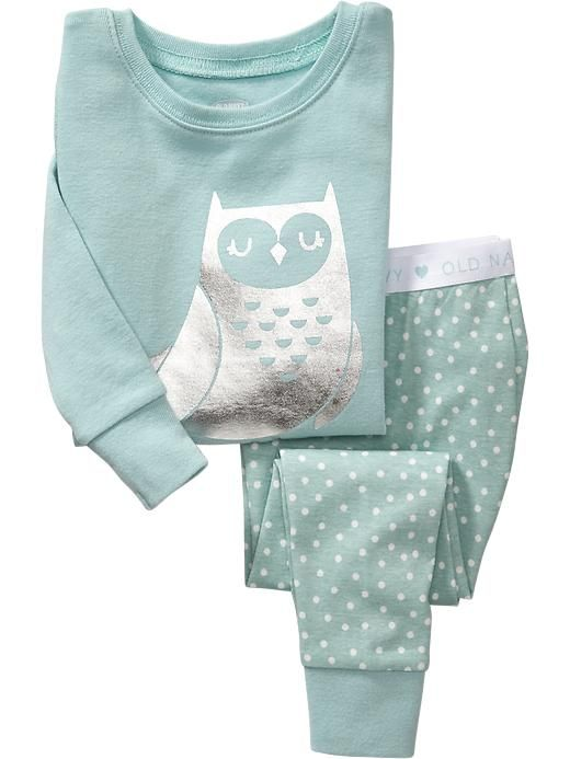 Owl Sleep Sets for Baby