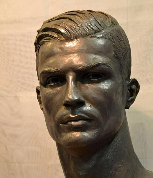 The new bust of Cristiano Ronaldo has impressed since it was unveiled at Real Madrid museum