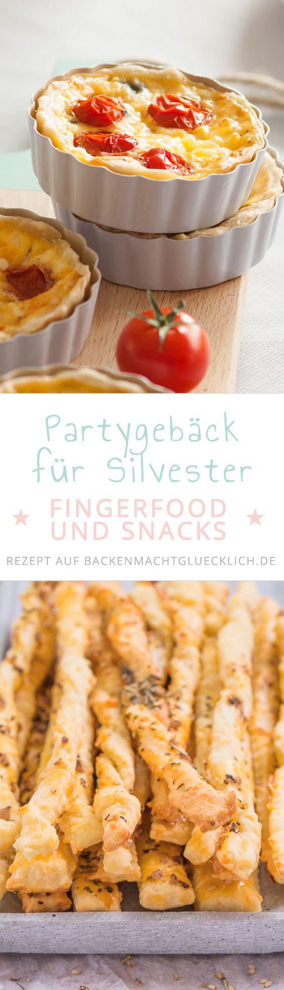 Auf der Suche nach Silvester-Essen? Diese leckeren Rezepte für Fingerfood und Partygebäck sind perfekt für Silvesterfeiern und Buffets. Einfach, gut vorzubereiten, essbar direkt aus der Hand. So kann das neue Jahr kommen!