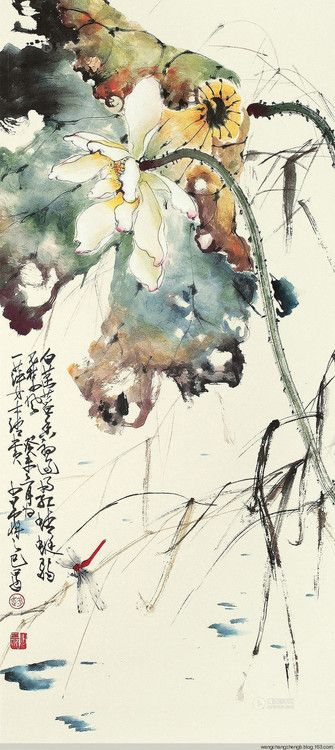 iamjapanese:  Zhao Shao'ang(赵少昂 Chinese, 1905-1998) via