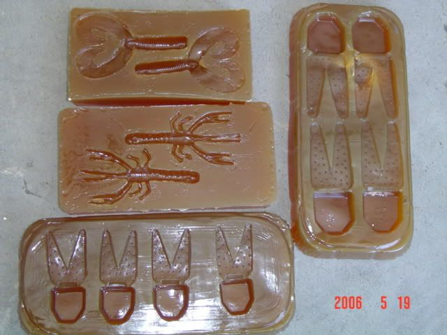 1000 images about diy plastics molds on pinterest logos for Fishing worm molds