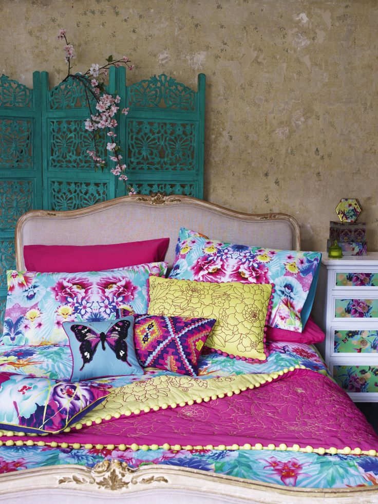 Butterfly by Matthew Williamson for your bedroom, coming soon #SS14 #sneakpeek #bedroom