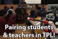 Pairing students & teachers in TPL