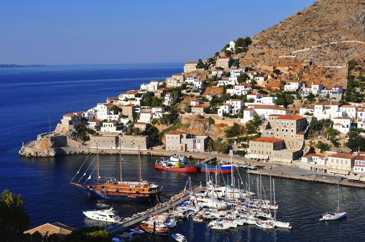 The beautiful island of #Hydra! #KeyTours #Cruises #Greece