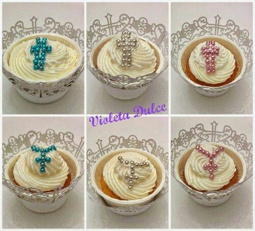 Communion cupcakes ( Violeta Dulce)