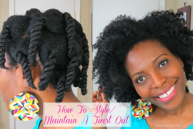 How To Maintain A Twist Out At Night Twist Hairstyles