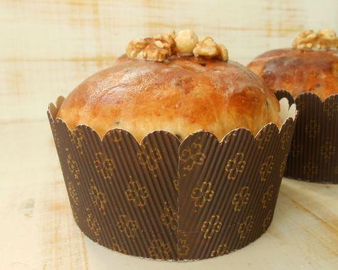 Pan dulce con frutos secos (Panettone)   Cocinar en casa es facilisimo.com