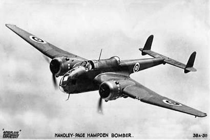 Handley-Page Hampden Bomber