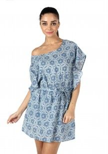 MOJO Cotton Viscose Tie-Waist Kaftan Dress  Rs. 2,400