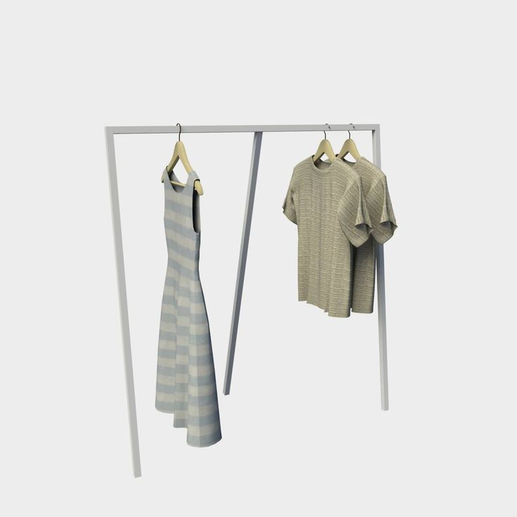 Stand μεταλλικό ρούχων 07-012