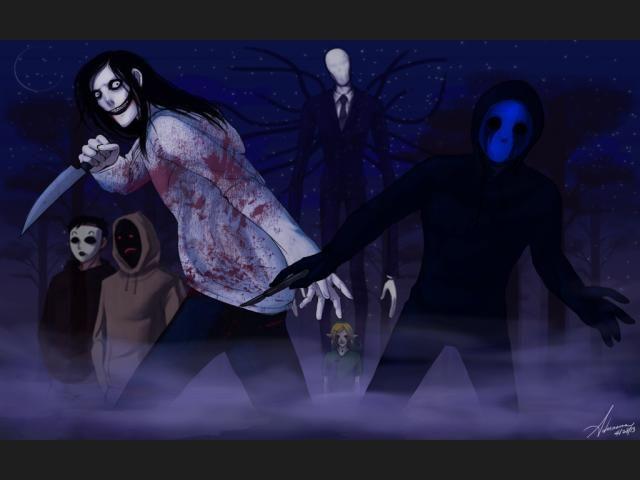 Resultado de imagen de fotos de creepypastas