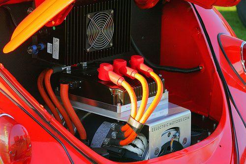 1963 Volkswagen electric beetle - eng