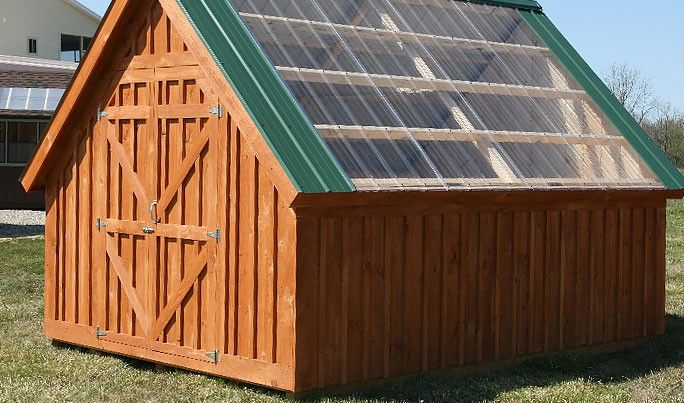 1000 ideas about amish sheds on pinterest shed kits for Amish barn construction