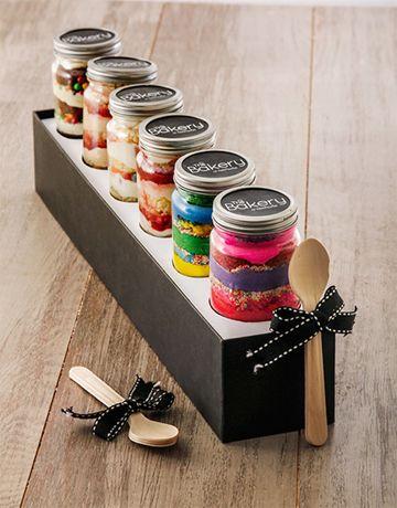 6 Birthday Combo Cupcake Jars