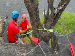 Abseiling in Gauteng, South Africa with Impact Adventure Africa. #dirtyboots #abseiling #gauteng