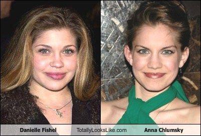 Danielle Fishel totally looks like Anna Chlumsky