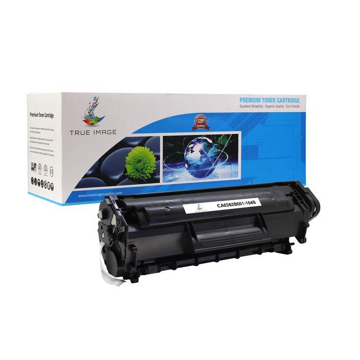 TRUE IMAGE CA0263B001-104B Black Toner Replaces Canon 104 0263B001AA