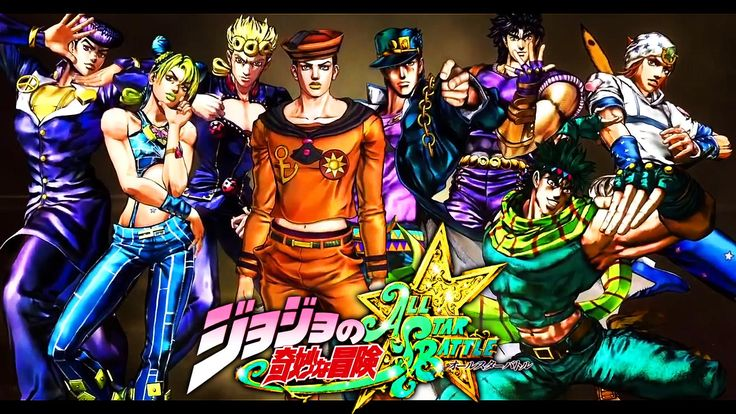 Jojo All Star Battle #JJBA (1600×900)