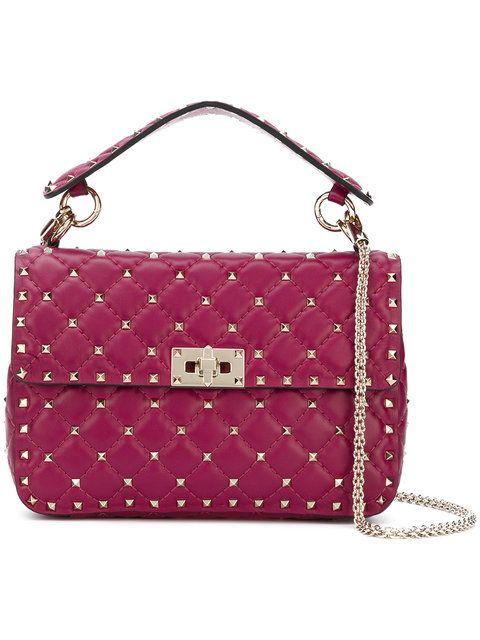 Купить Valentino сумка через плечо 'Valentino Garavani Rockstud Spike'.