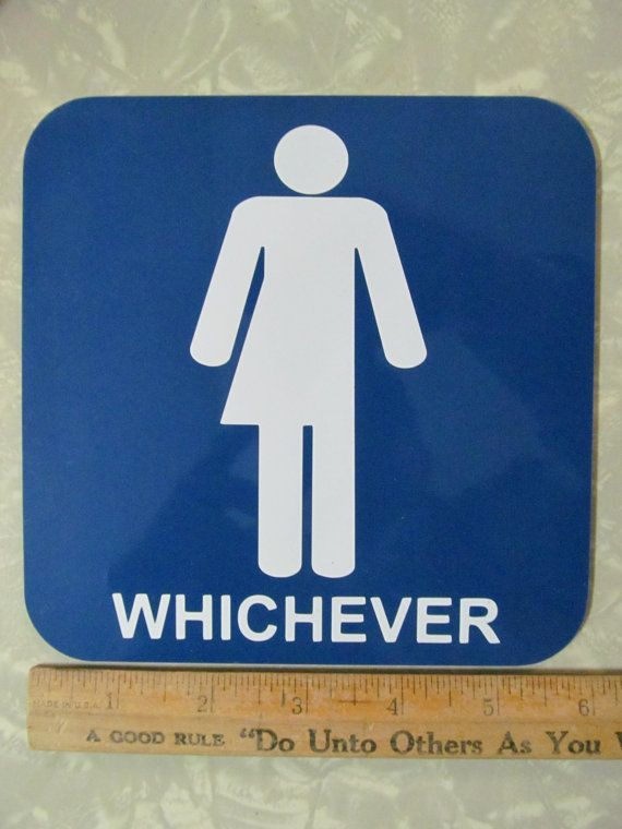 25 best ideas about unisex bathroom sign on pinterest for Unisex bathroom ideas