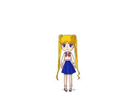 Sailor Moon!!! Por el poder del prisma lunar!!! #SailorMoon
