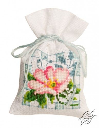 Pink Flowers II - Cross Stitch Kits by VERVACO - PN-0146544
