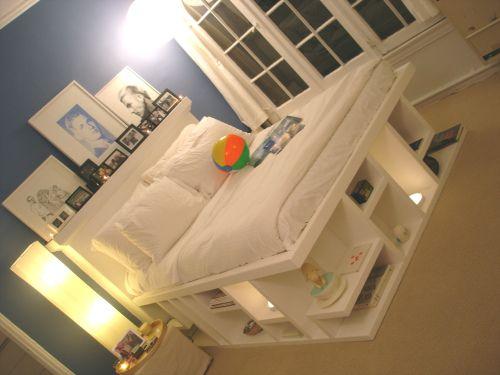 pretty raised bed