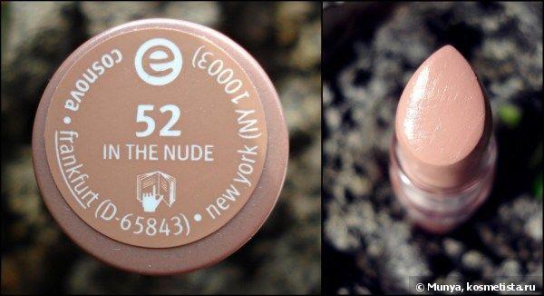 Вот он - мой идеальный нюд! Губная помада Essence # 52 - In the Nude отзывы — Отзывы о косметике — Косметиста