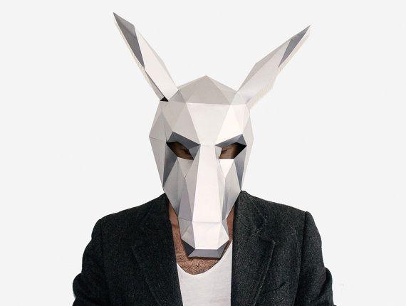 Best 25 donkey mask ideas on pinterest horse mask face for Donkey face mask template