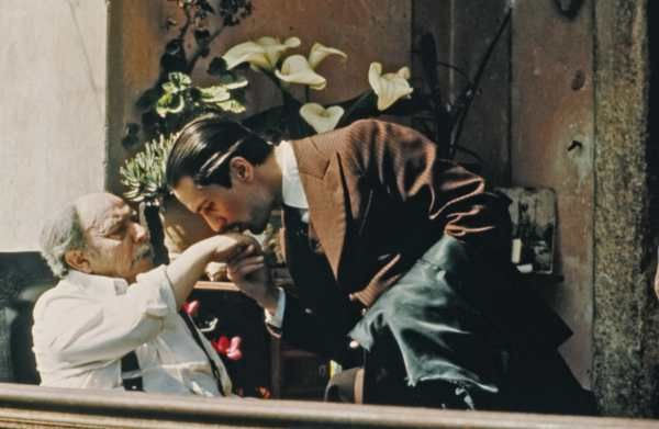 The Godfather Part II - Image from the film with Rober DeNiro