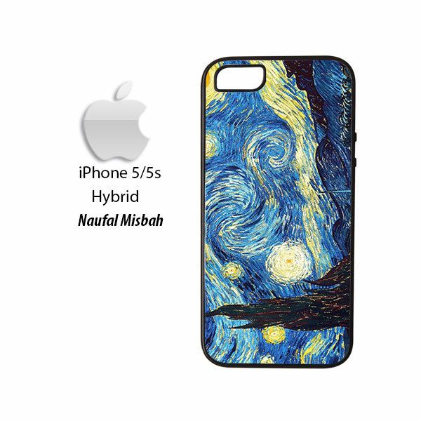 The Starry Night Vincent Van Gogh iPhone 5/5s HYBRID Case Cover