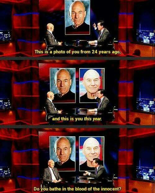 The immortal Patrick Stewart