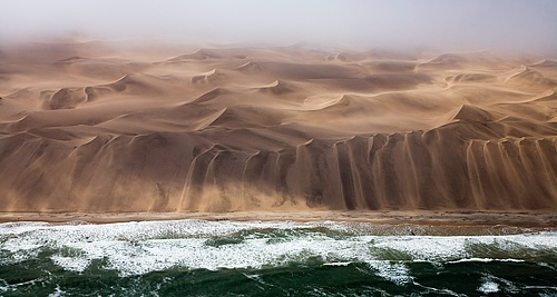 SkeletonCoast Namibia desert