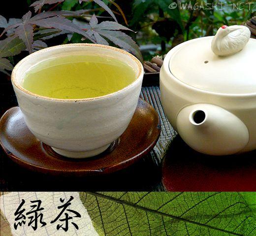 O-cha, japanischer grüner Tee