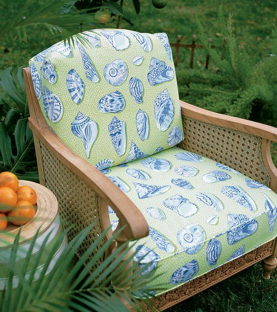 Gemütliche Sessel, Nautischen Design, Küche Ideen, Innenhöfe, Strand, Möbel,  Du Der, Outdoor Fabric, Coastal Decor