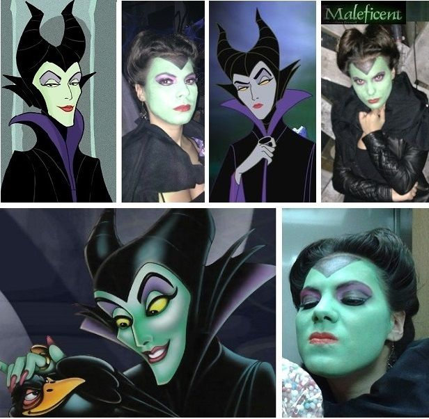 Maleficent hairstyle