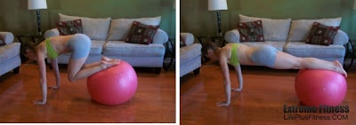 yes swiss ball, yes!Ab Routine, Stay Fit, Exercise Lv1, Ab Exercies, Abdominal Exercise, Ab Exercises, Exercies Lv1, Abdominal Exercises
