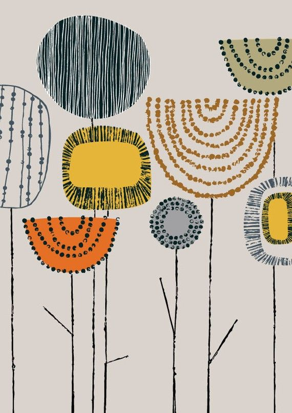 Eloise Renouf print. Check out her etsy shop. Lovely prints that speak to my own drawing style.
