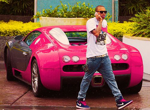 Chris Brown Cars: Tagged: Chris Brown Brezzy Style Swag Tight Ill Pink