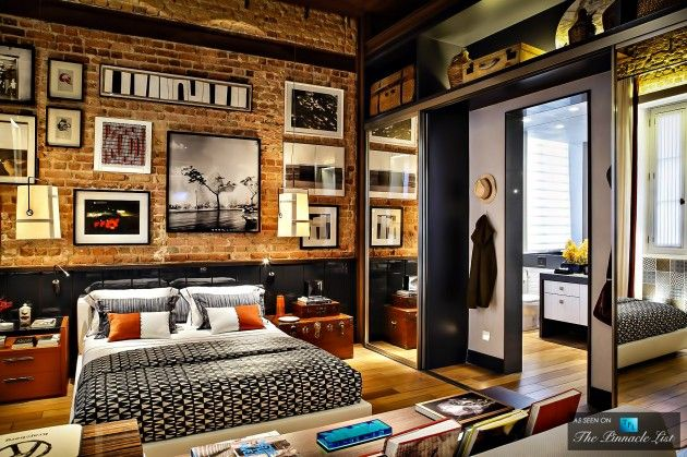 Multifunctional Brazilian Loft Apartment in the Style of 70′S