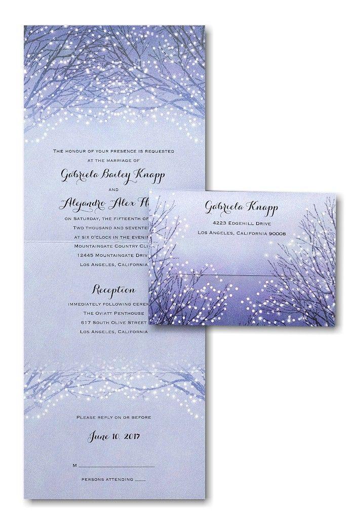 Exceptionnel Shimmering Lights Seal U0027n Send Wedding Invitation