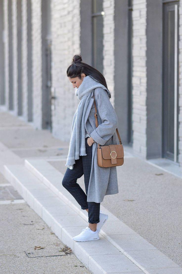 JUNESIXTYFIVE - Manteau gris oversize