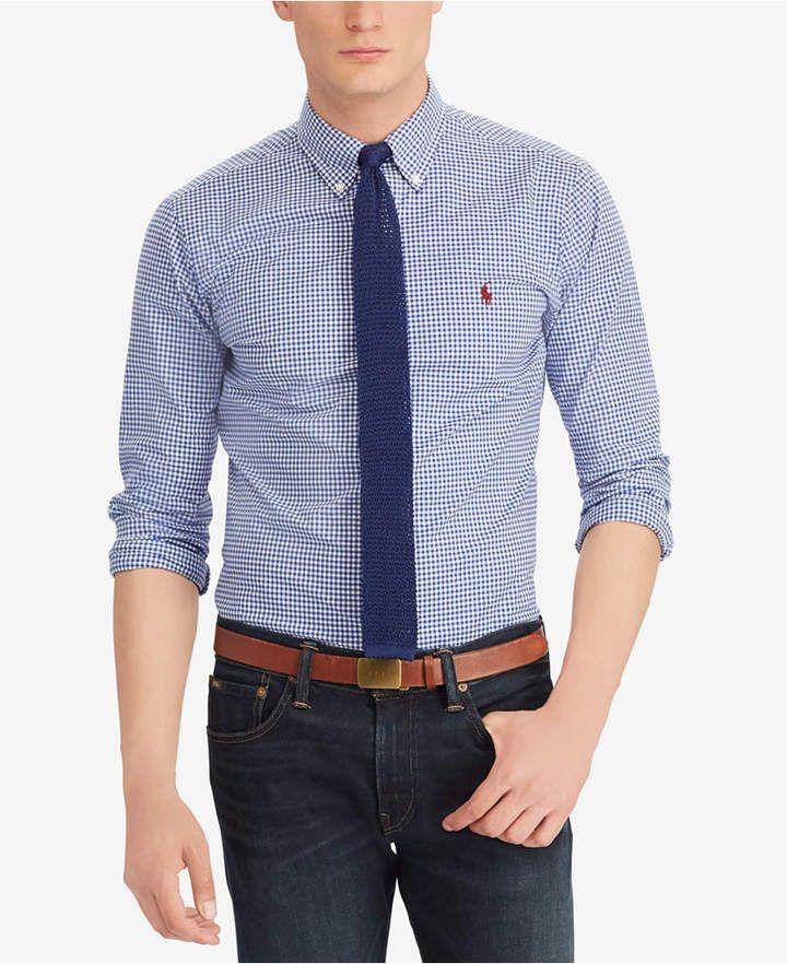 4c1ec045 Polo Ralph Lauren Men's Classic Fit Cotton Gingham Shirt | h in 2019 ...