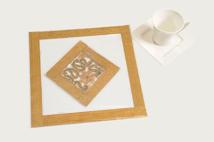 Table Mat : Imagine Gold