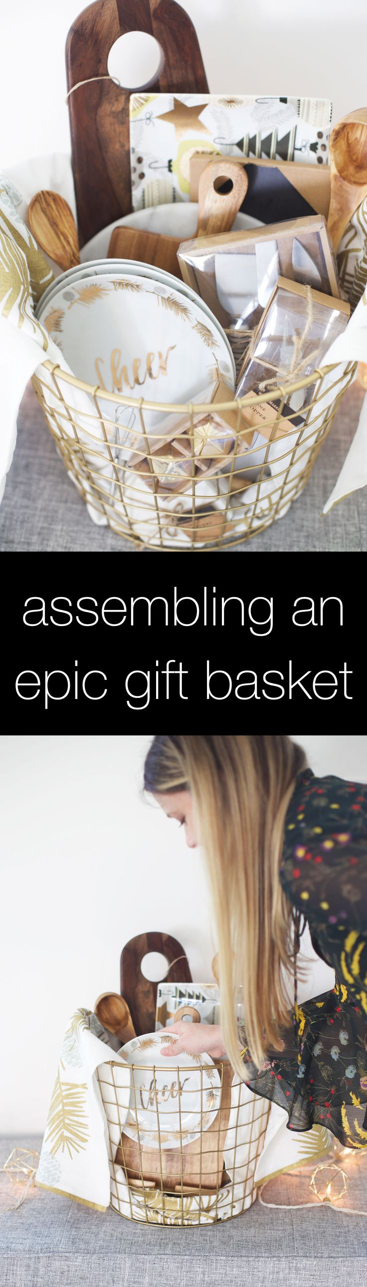 Tips for putting together an awesome holiday gift basket and beyond! @worldmarket #ad #WorldMarketJoy #worldmarkettribe